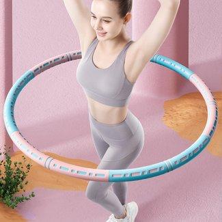 !OP=OP Rosa / Blau Fitness Hoelahoep