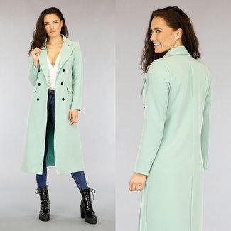 NEW2403 Lang Mint Green Jacket Blazer