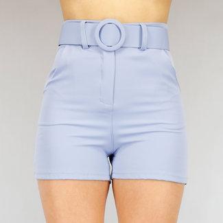 NEW2104 Leichte Hose Hose mit Gürtel