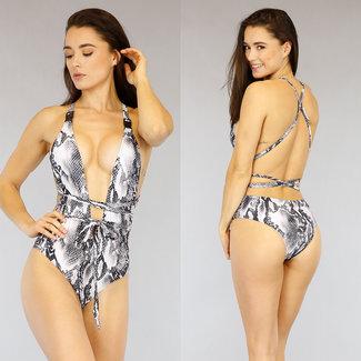 Sexy Snake Wrap Badeanzug