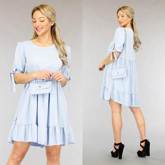 NEW2104 Licht lässige Babydoll-Kleid-Tasche