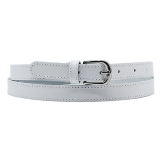 NEW1205 Basic Weiß Lederband