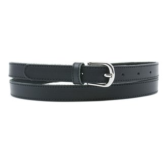 NEW1205 Basic Black Lederband