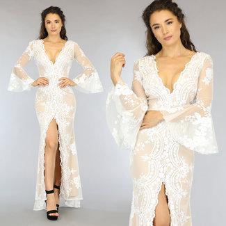 Sexy Brautballkleid mit Split