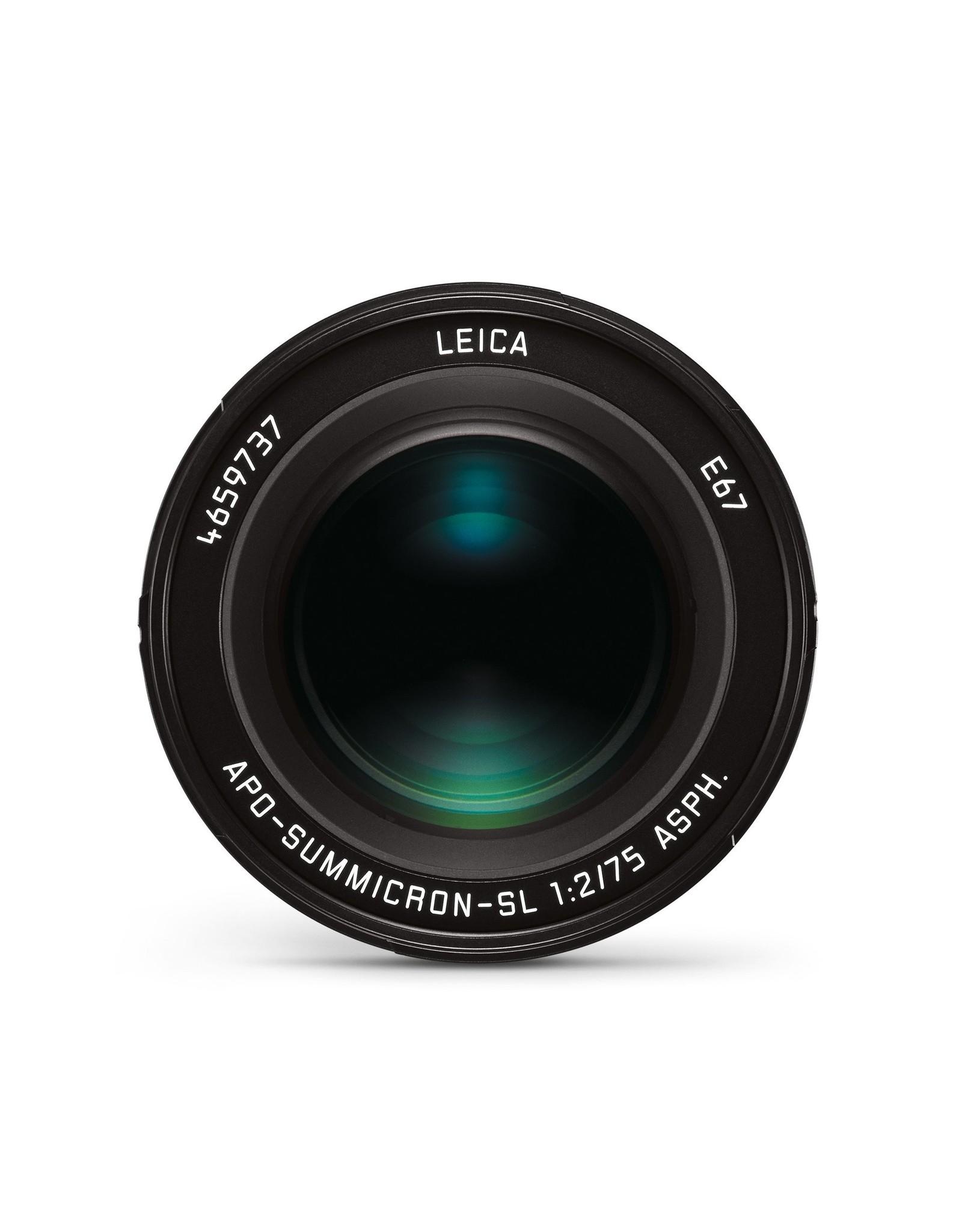 Leica Leica 75mm f2 APO-Summicron-SL ASPH Black   111-78