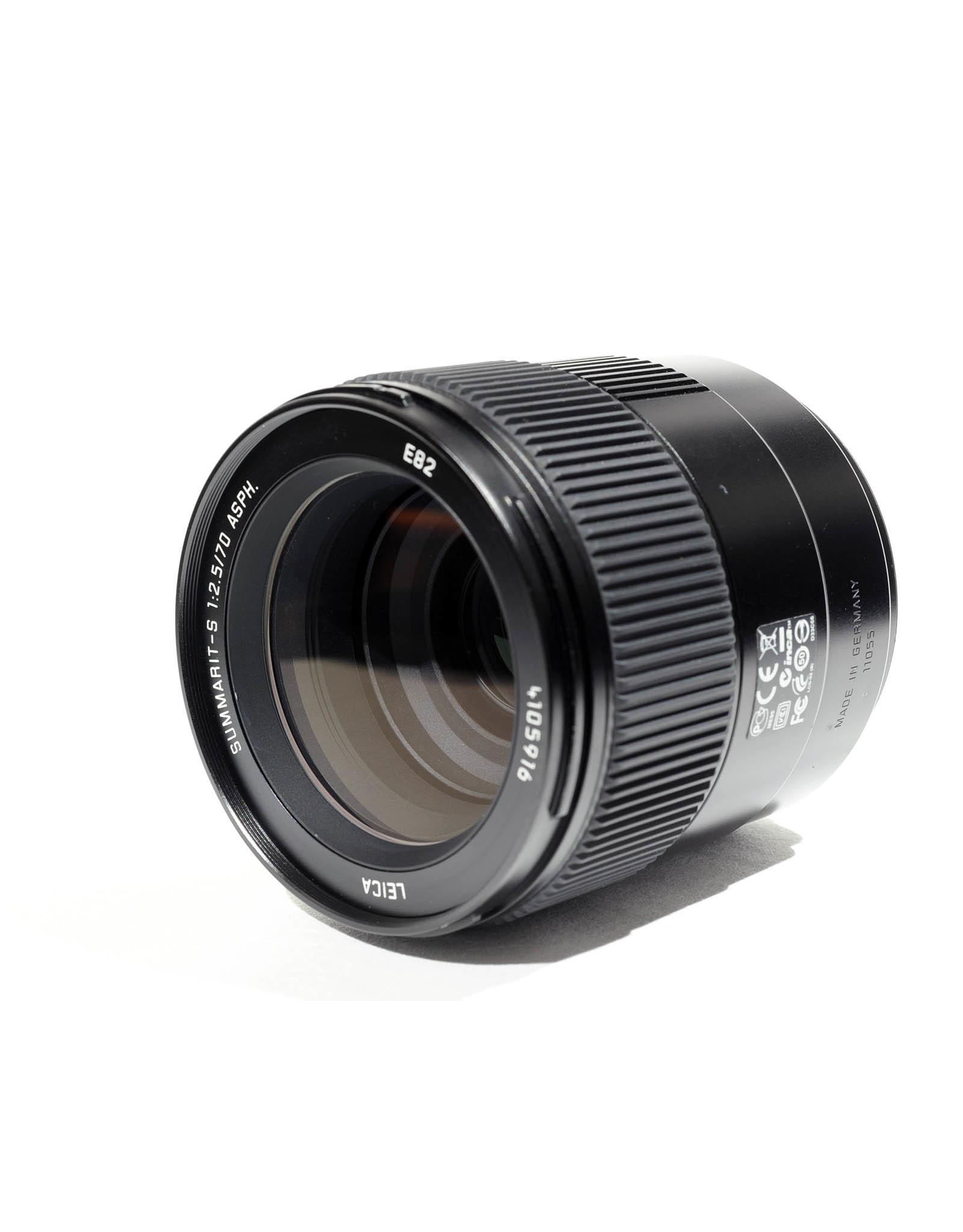 Leica Leica 70mm f2.5 Summarit-S ASPH + hood (boxed)