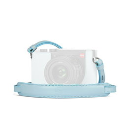 Leica Carrying Strap-Q2 Light Blue   195-79