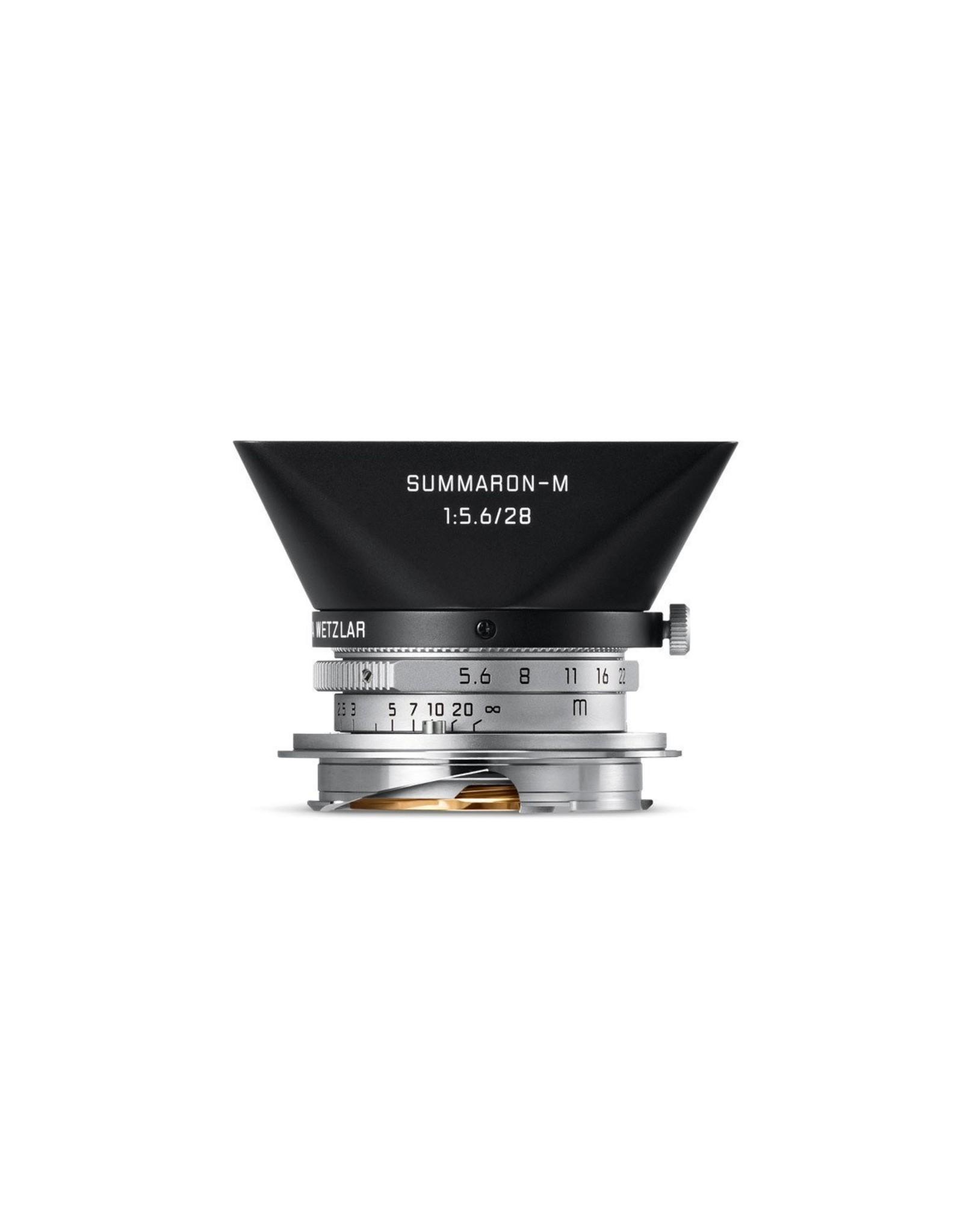 Leica Leica 28mm f5.6 Summaron-M Silver   116-95