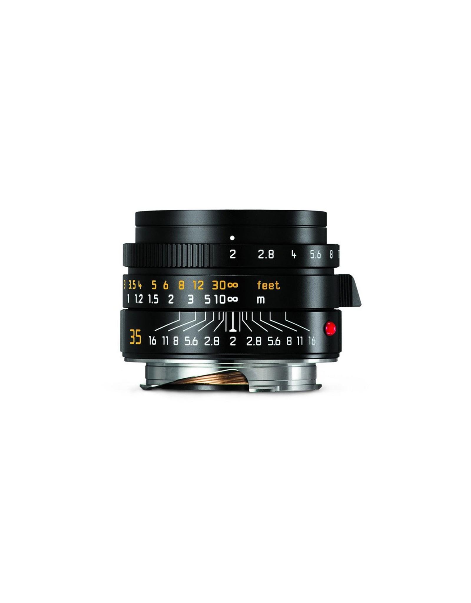 Leica Leica 35mm f2 Summicron-M ASPH Black   116-73