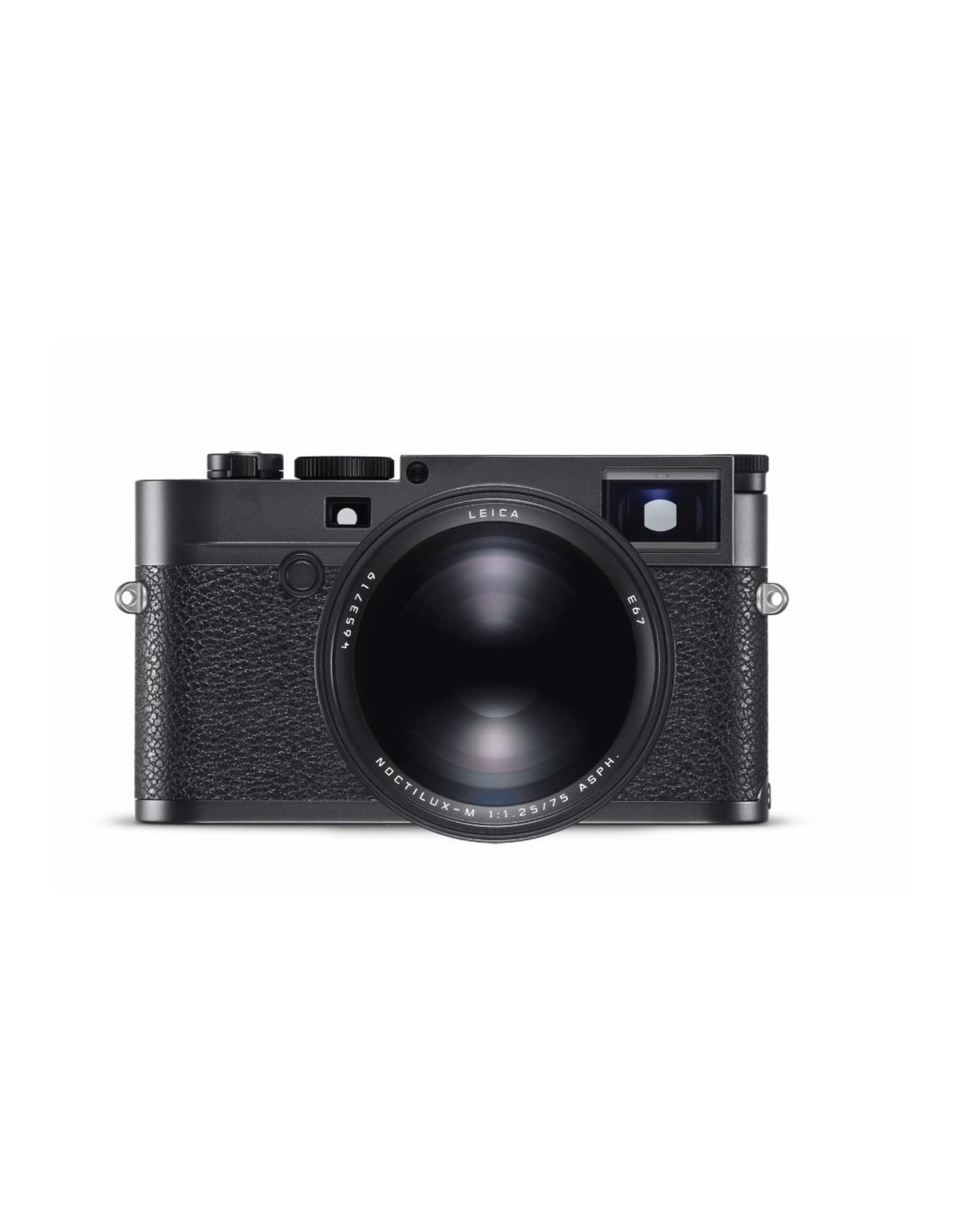 Leica Leica 75mm f1.25 Noctilux-M ASPH Black   116-76