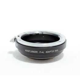 Voigtlander Voigtlander Nikon F to Leica L39 Mount Adapter   AP9120605