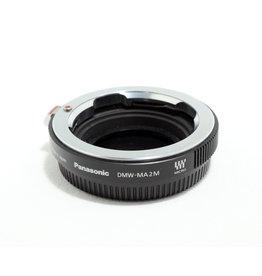 Panasonic Panasonic DMW-MA2M Adapter (M to M4/3)   AP2030702