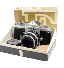 Nikon Nikon F with 5cm f2 Nikkor-S (boxed)  very early camera  6401xxx ALC105912