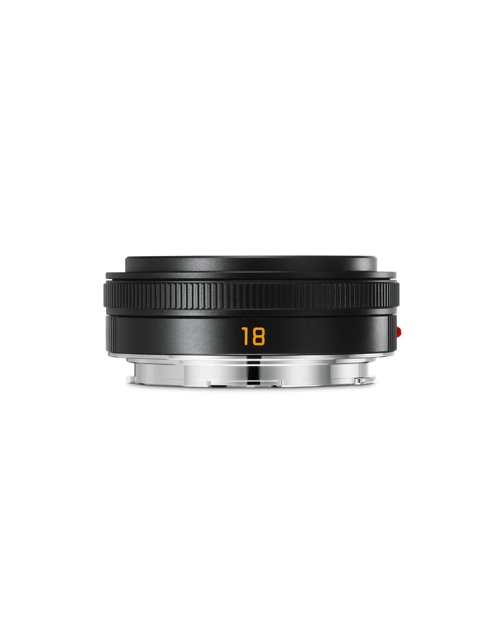 Leica Leica 18mm f2.8 Elmarit-TL ASPH Black Anodized  110-88