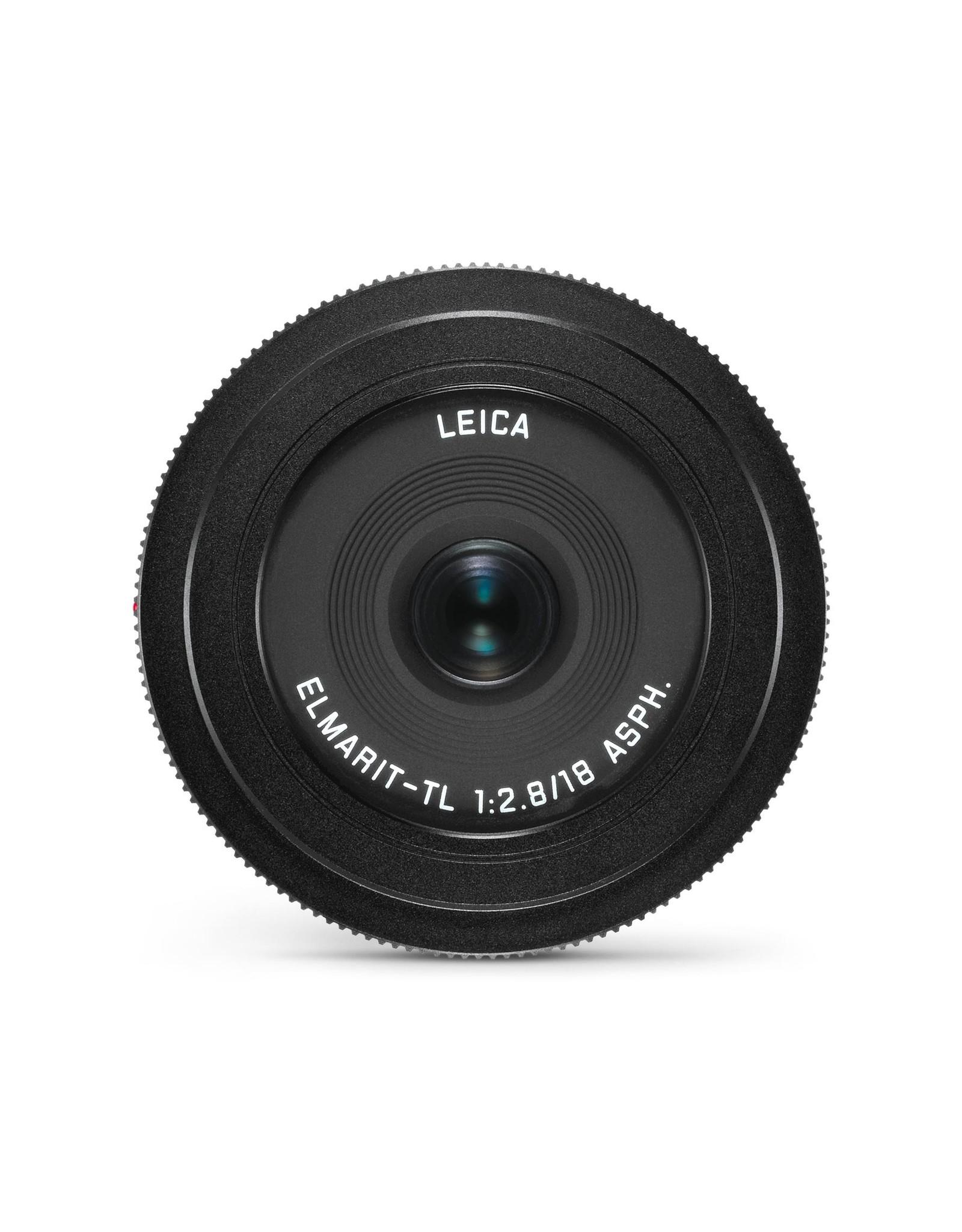 Leica Leica 18mm f2.8 Elmarit-TL ASPH Black   110-88