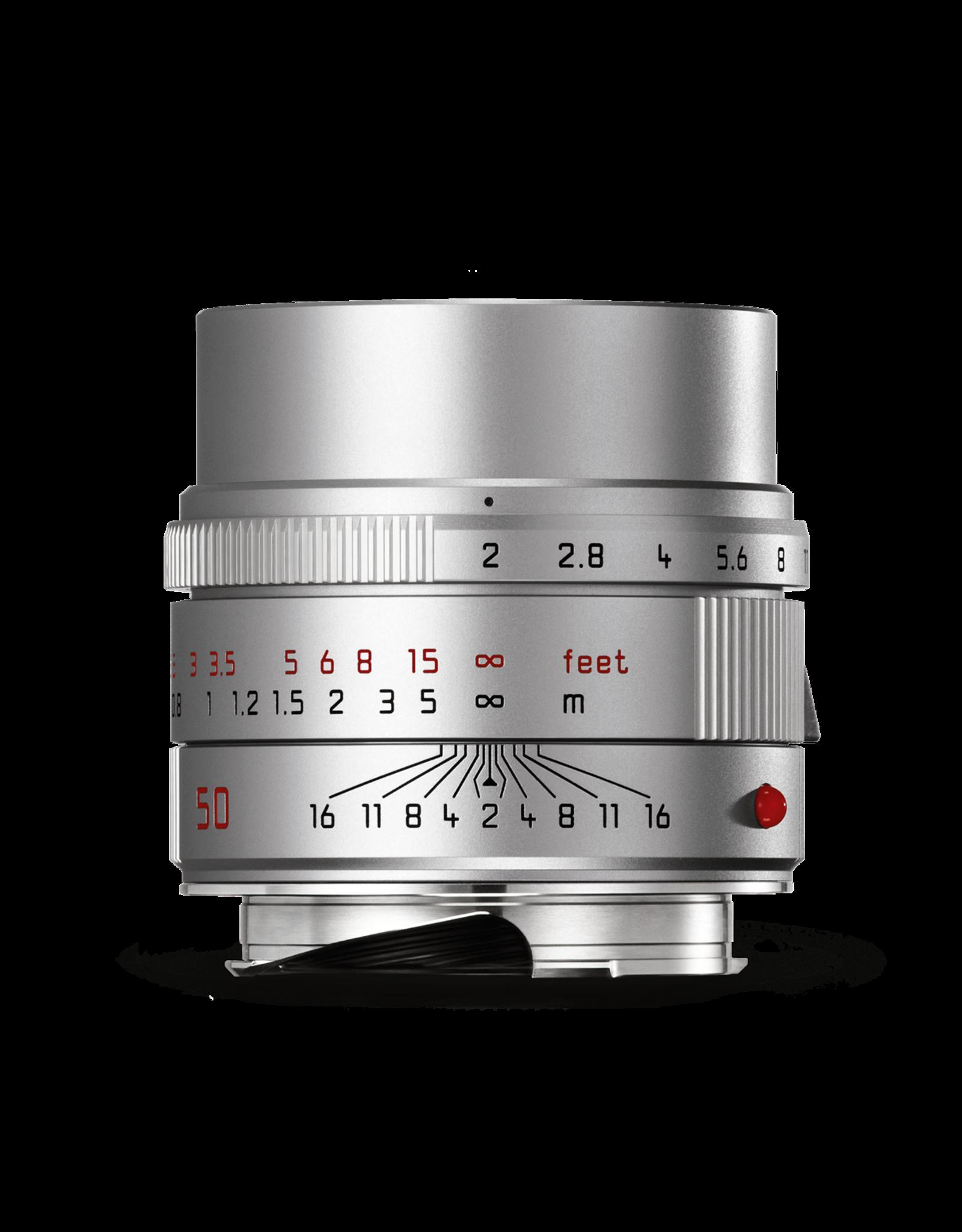 Leica Leica 50mm f2 Apo-Summicron-M ASPH Silver   111-42