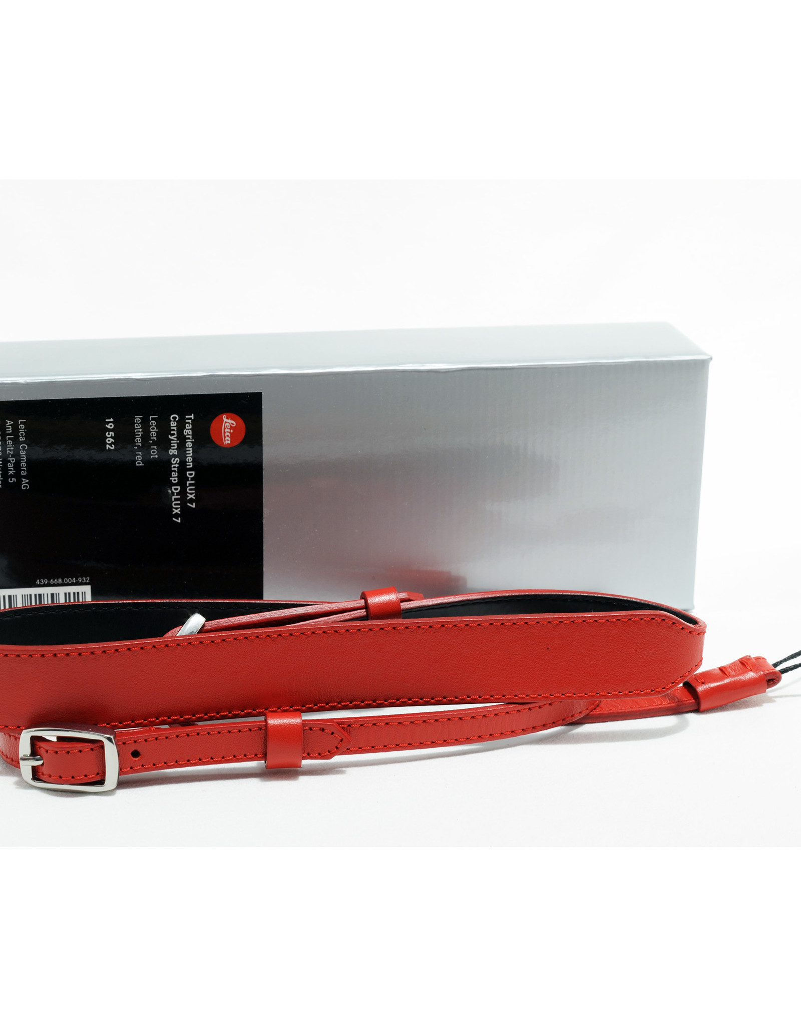 Leica Leica Carrying Strap D-Lux Red