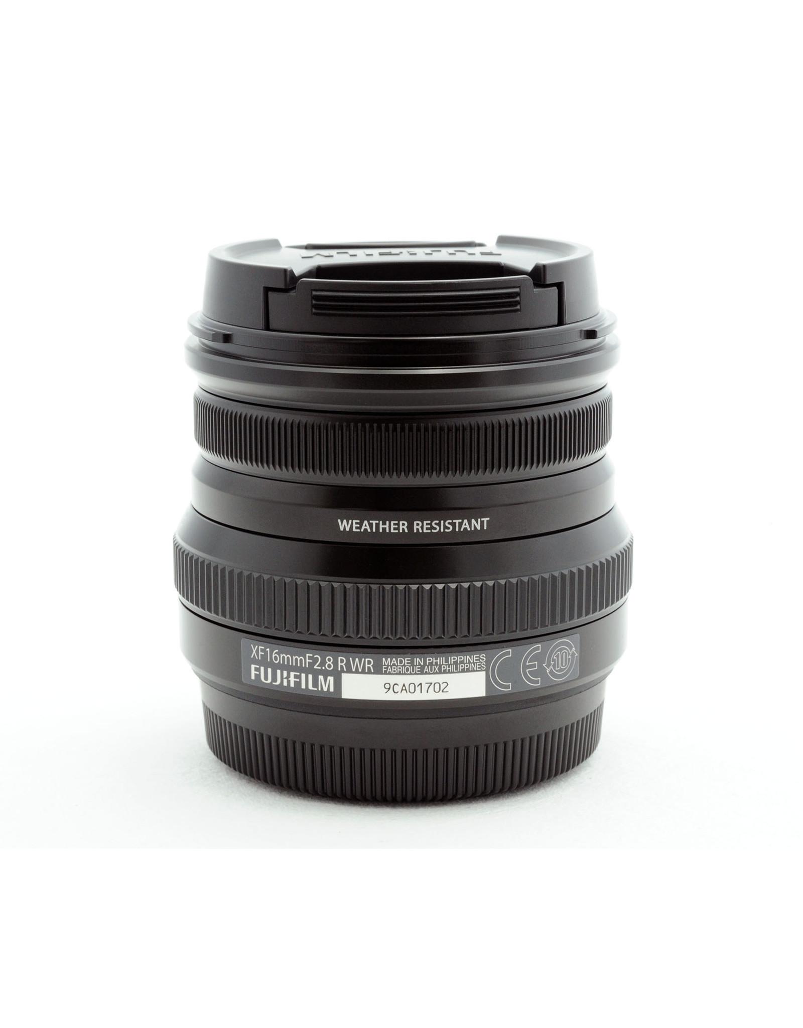 Fuji Fujifilm XF16mm f2.8 R WR Black 16611667