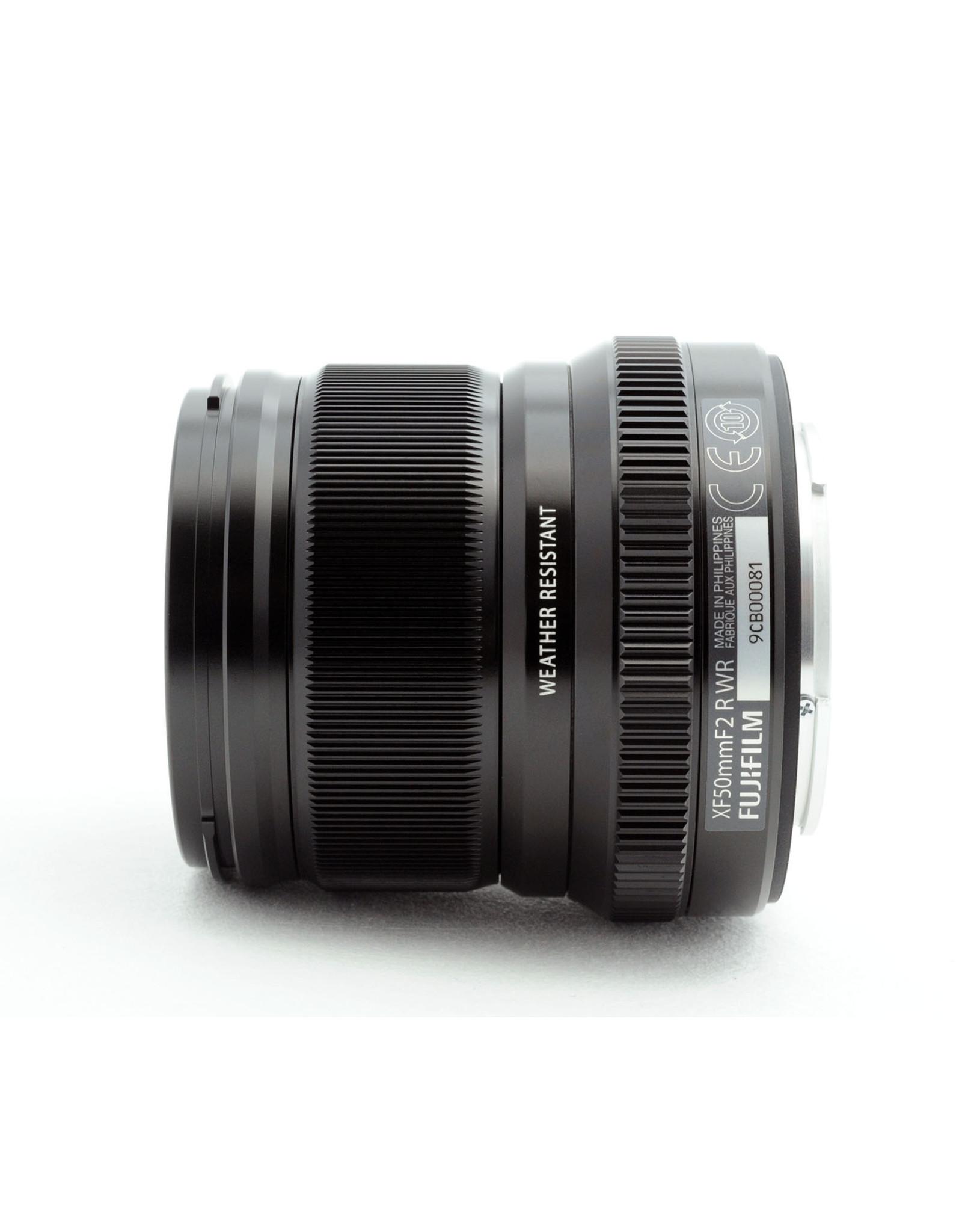 Fujifilm Fuji XF50mm f2 R WR Black   16536611