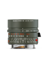 Leica Leica 28mm f2 Summicron-M ASPH Safari, Olive Green Paint Finish   117-04