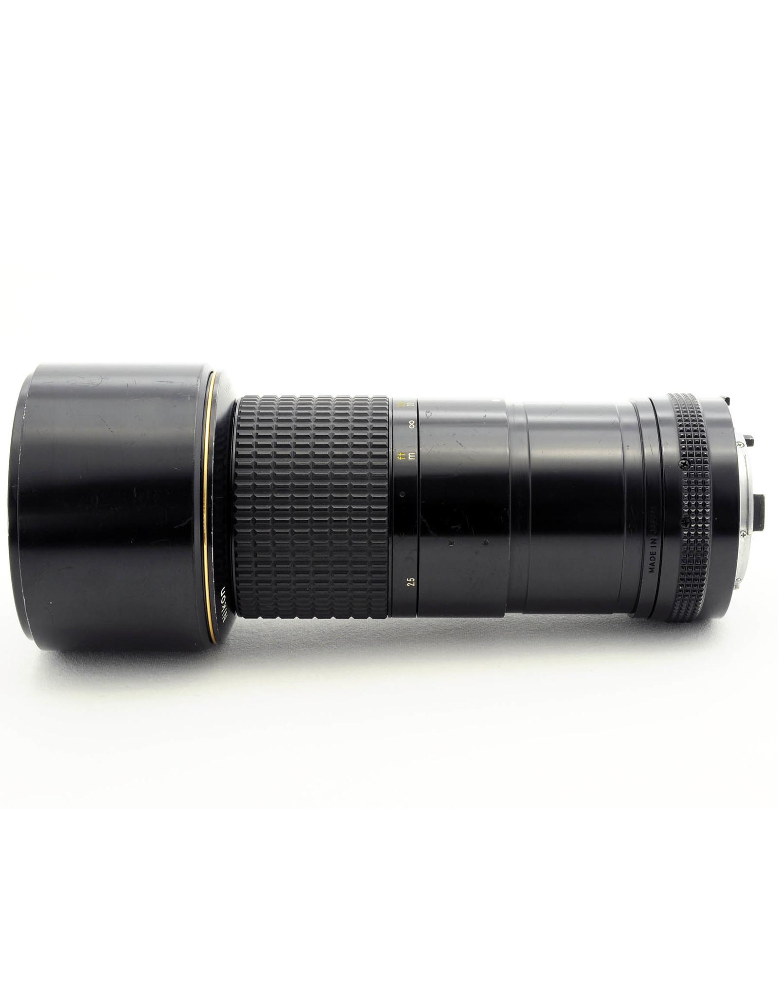 Nikon Nikon 300mm f4.5 AIS ED   NMF9061708