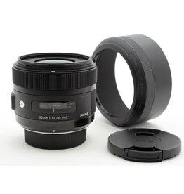 Sigma Sigma 30mm f1.4 DC ART    AP2120502