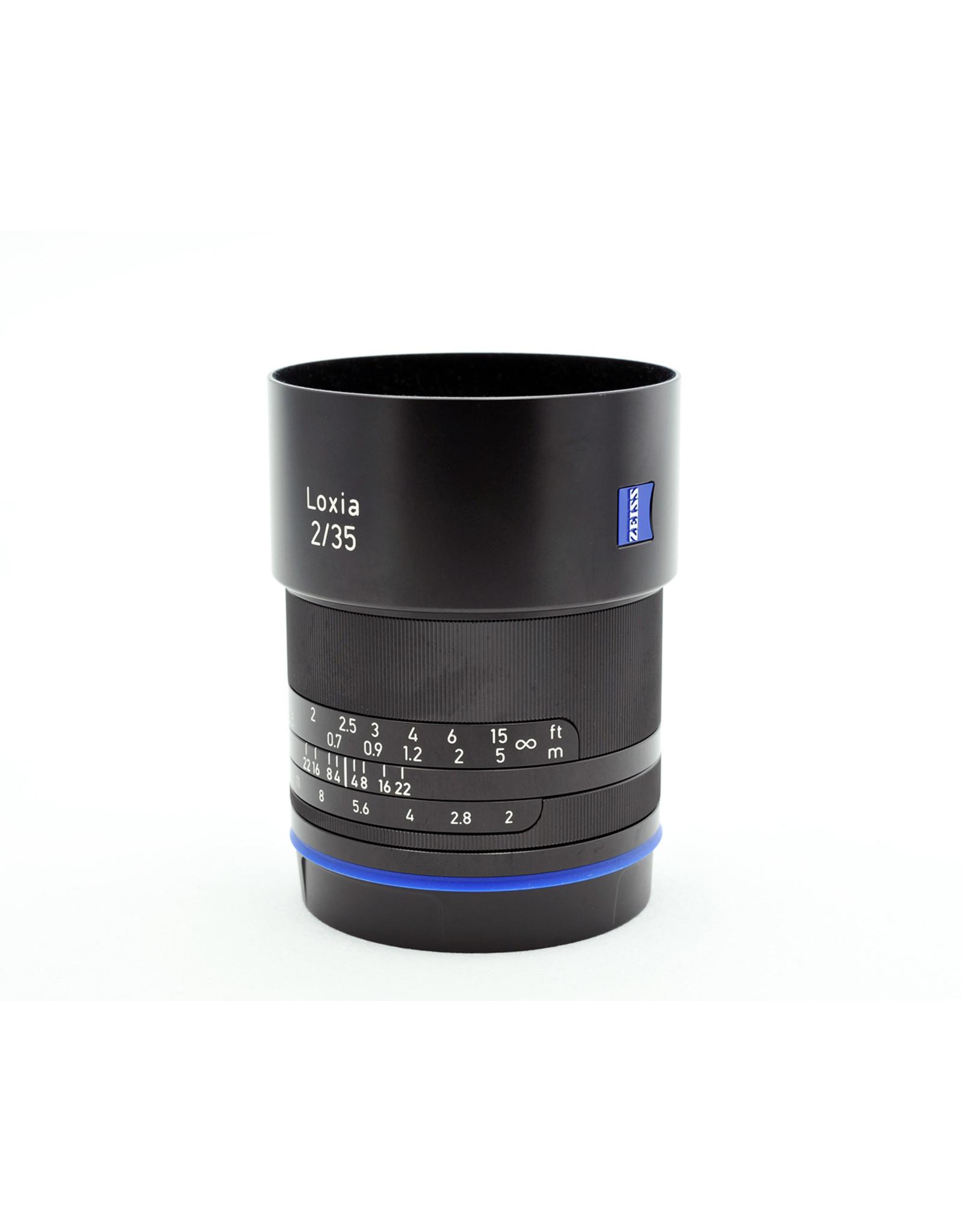 Zeiss Zeiss 35mm f2 Biogon T* Loxia   AP2121214