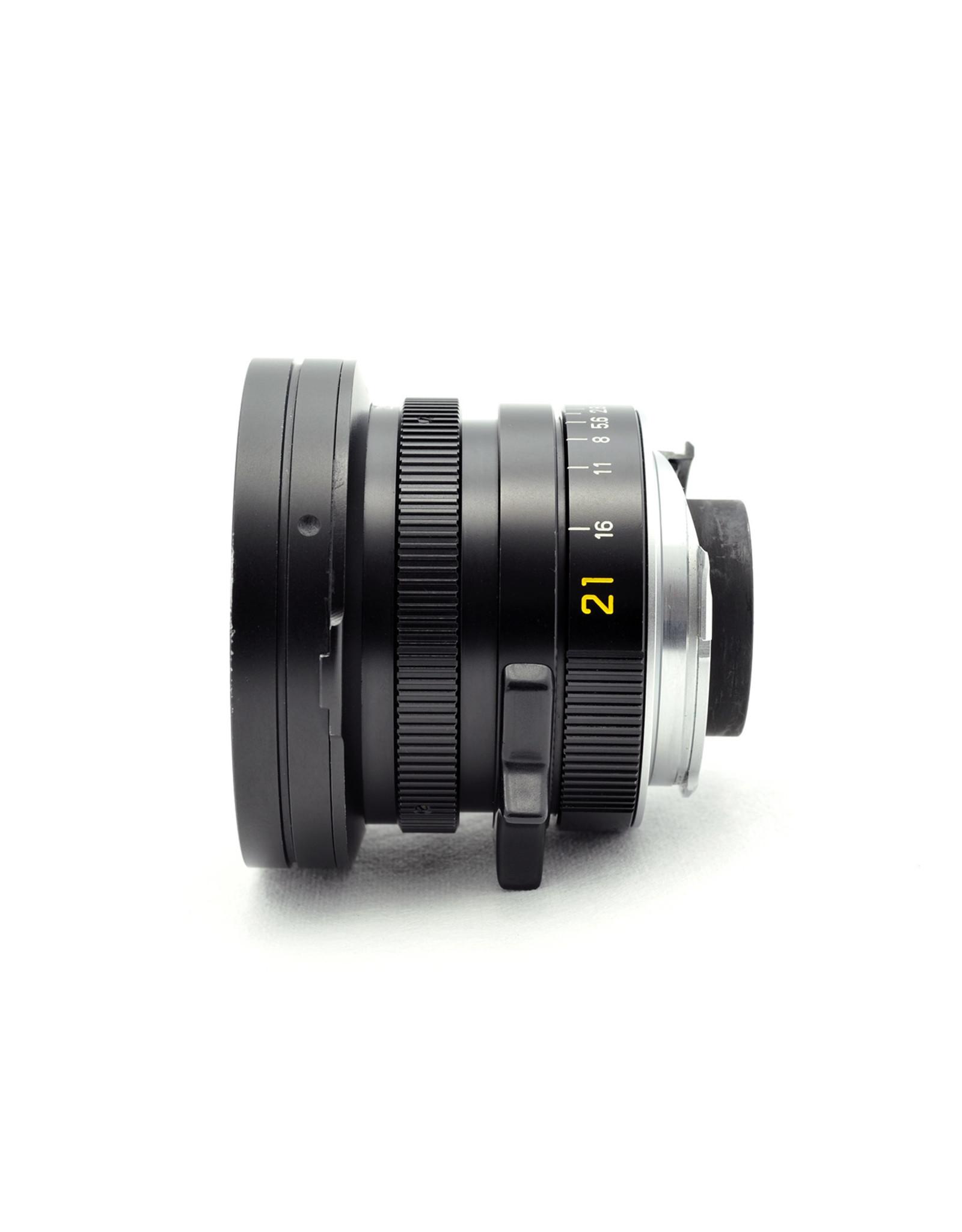 Leica Leica 21mm f2.8 Elmarit-M Black   AP2120801