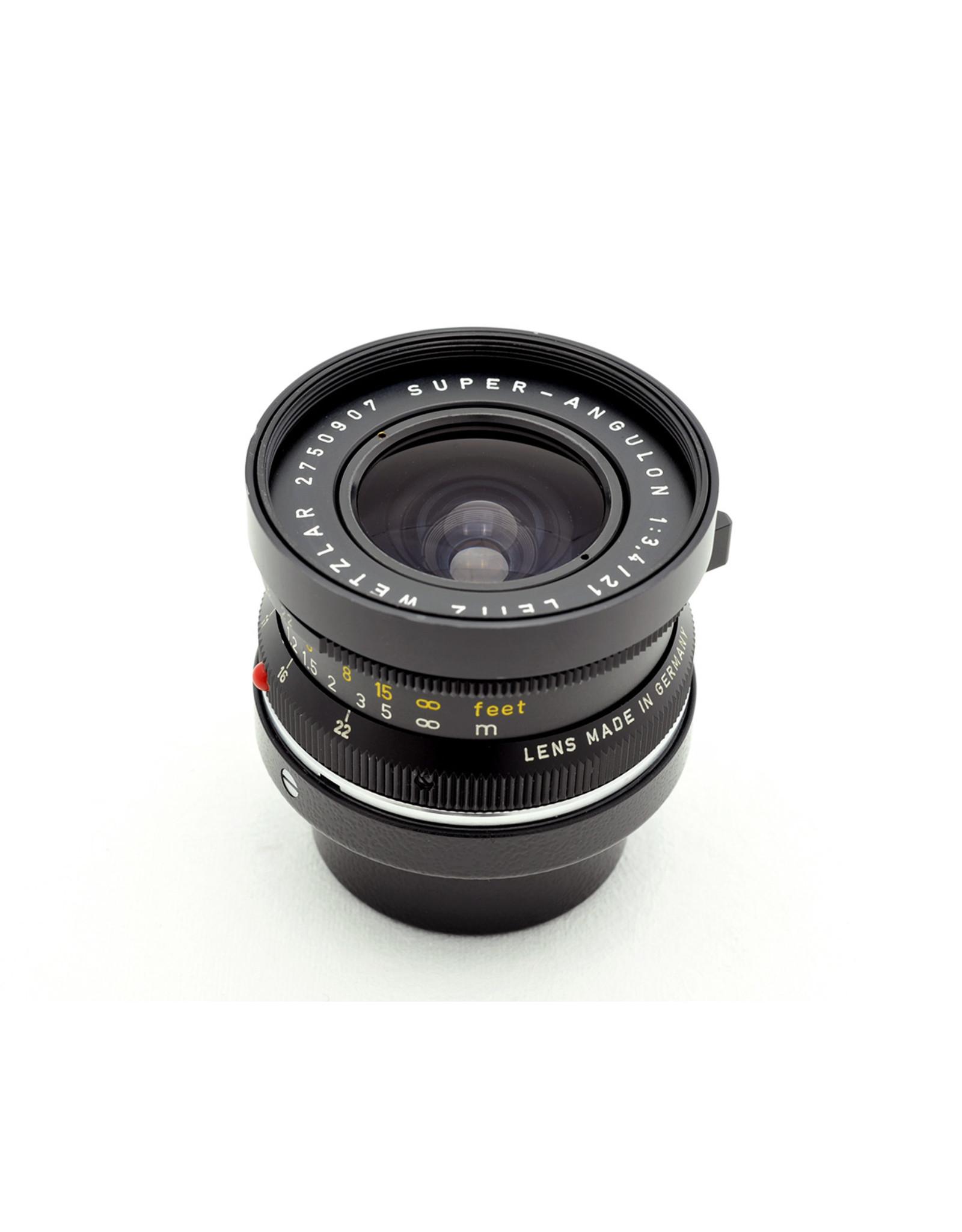 Leica Leica 21mm f3.4 Super-Angulon Black   AP9032602