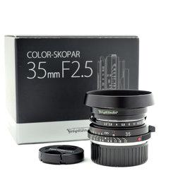 Voigtlander Voigtlander 35mm f2.5 Color-Skopar VM II + hood    AP2121802