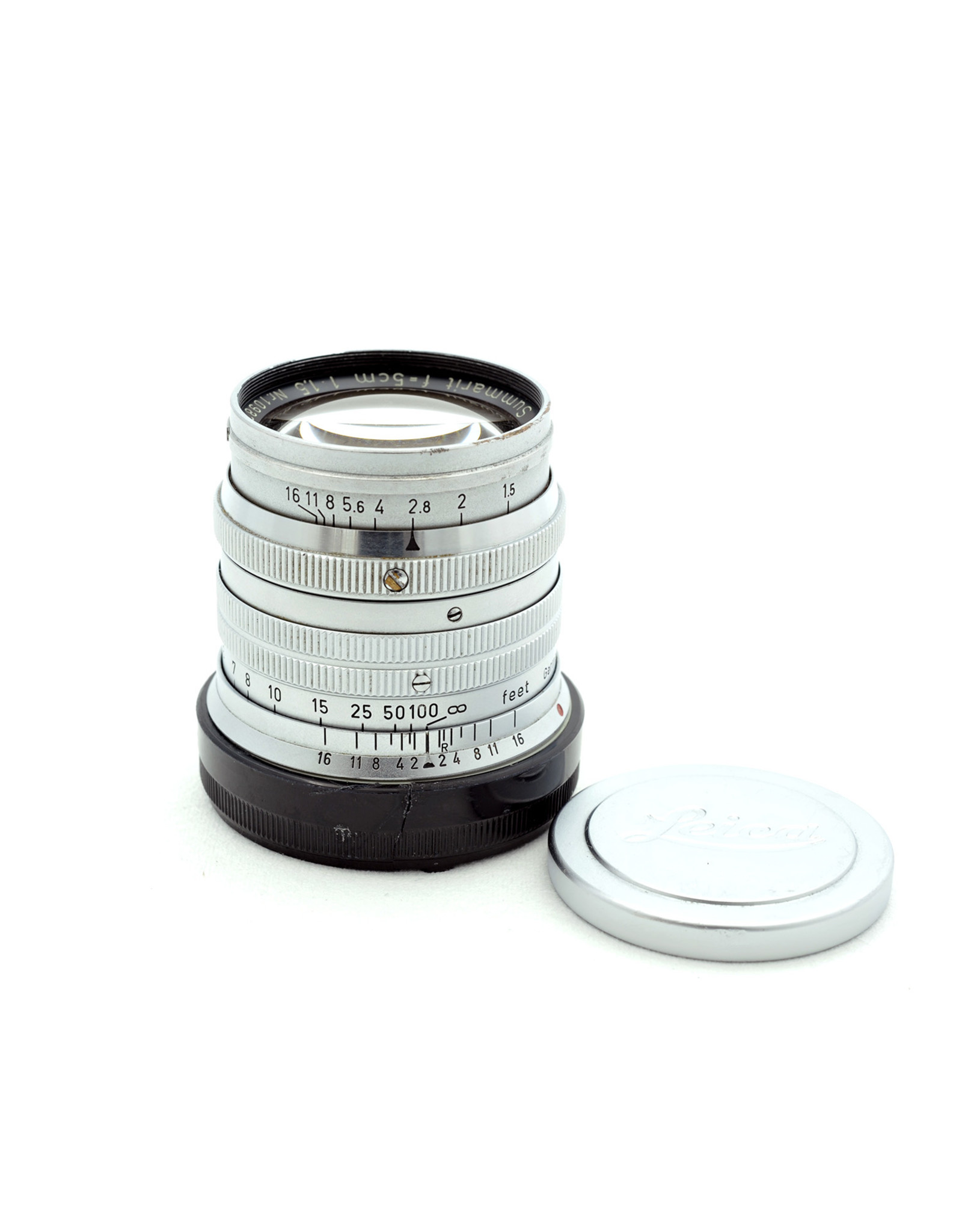 Leica Leica 5cm f1.5 Summarit Chrome   AP1010607
