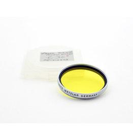 Leica Leica 39mm Yellow Filter Chrome   AP1010503