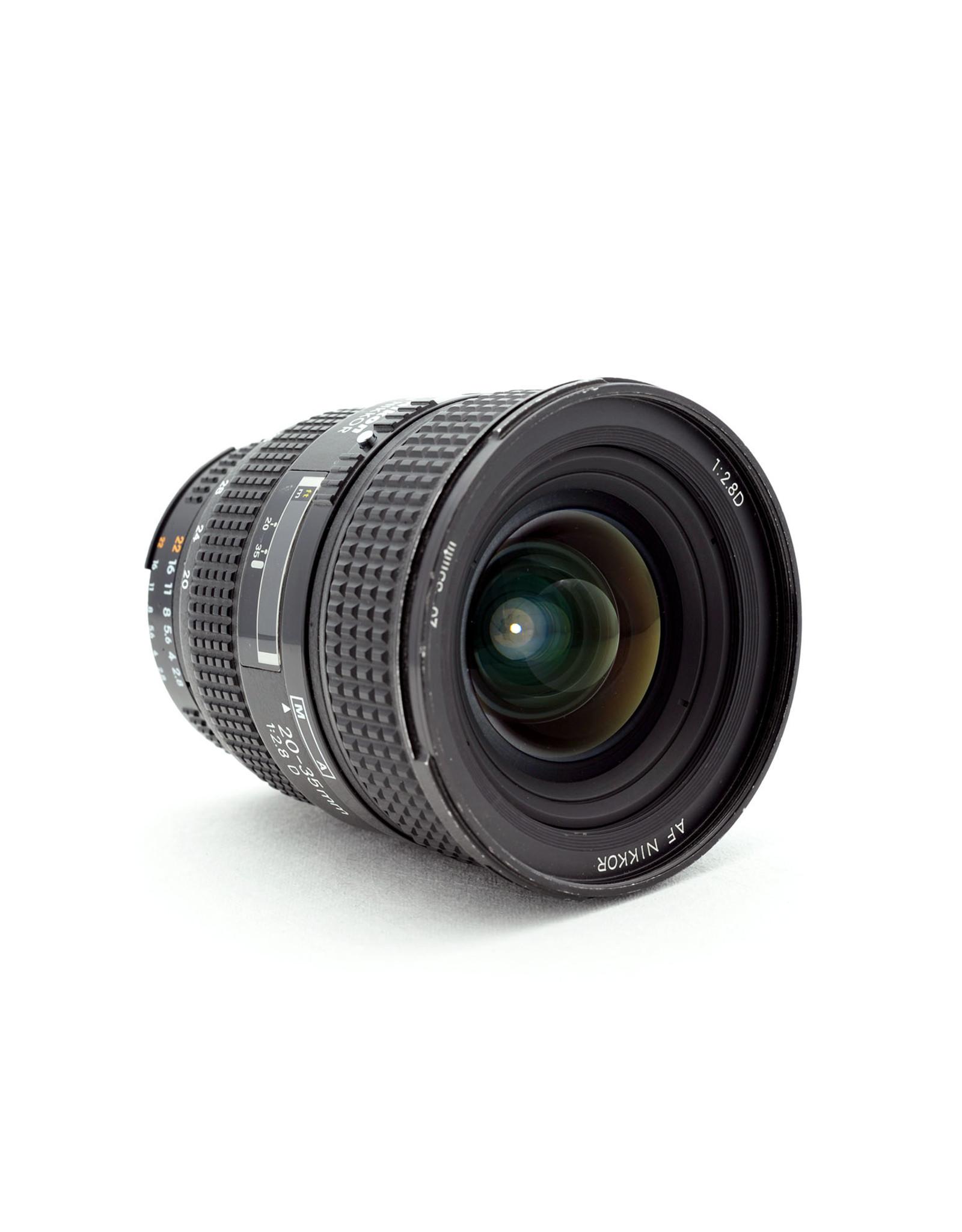 Nikon Nikon 20-35mm f2.8 AF-D   NAF9081702