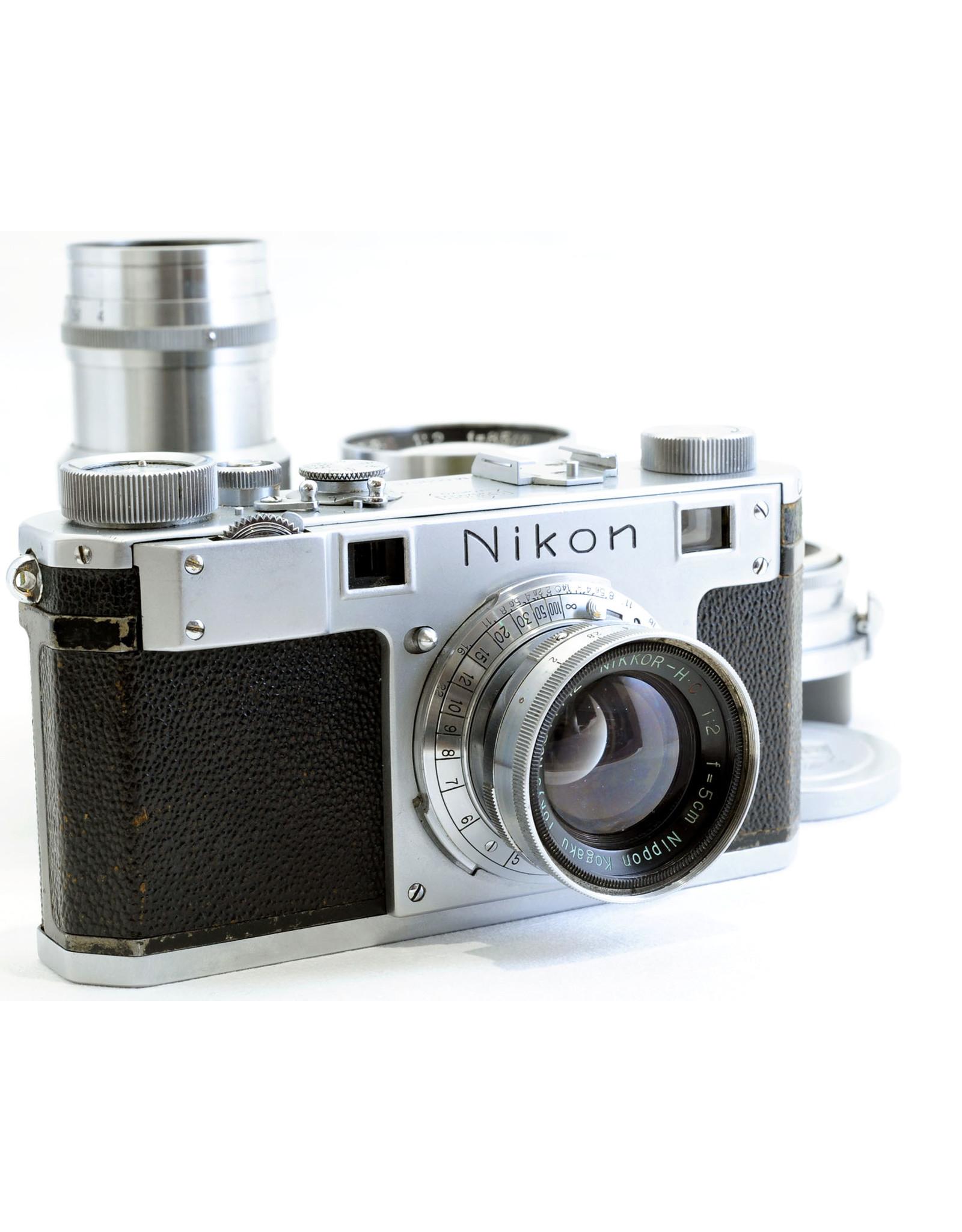 Nikon Nikon M outfit: 5cm f2, 3.5cm f3.5, 8.5cm f2, 13.5cm f4   ALC105914