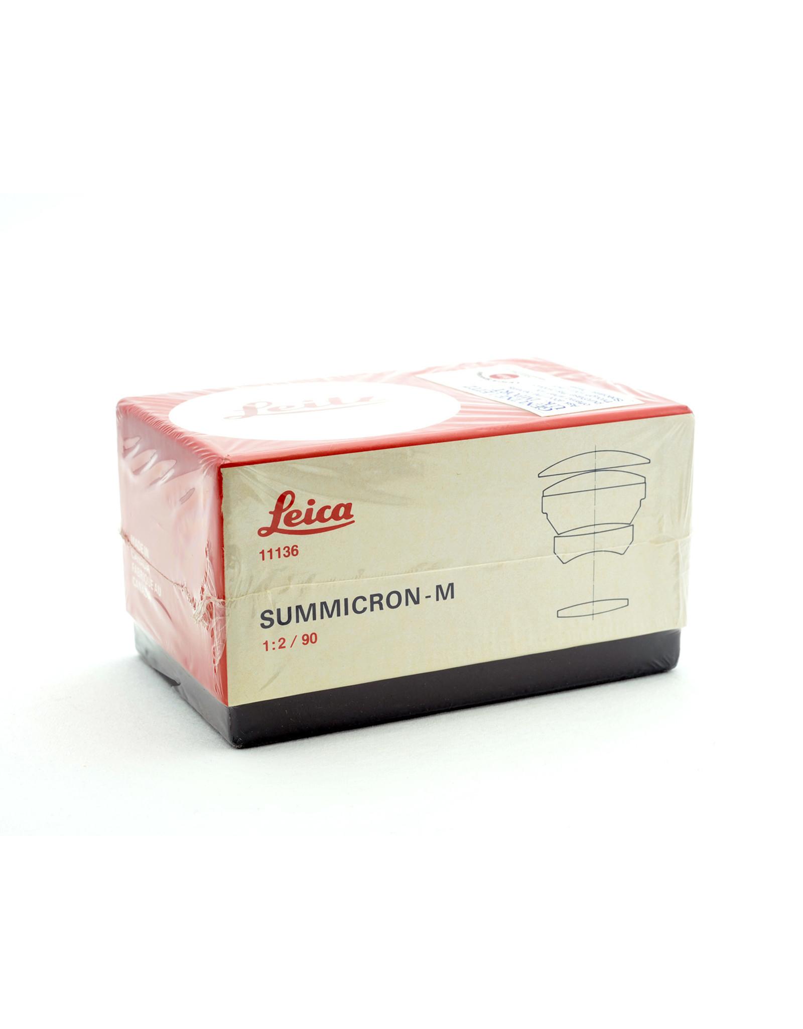 Leica Leica 90mm f2 Summicron-M AP2081506