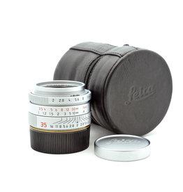 Leica Leica 35mm f2 Summicron-M ASPH Silver L39   ALC104302