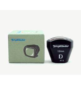 Voigtlander Voigtlander 12mm Bright Line Viewfinder D (1.5X) AP9092801