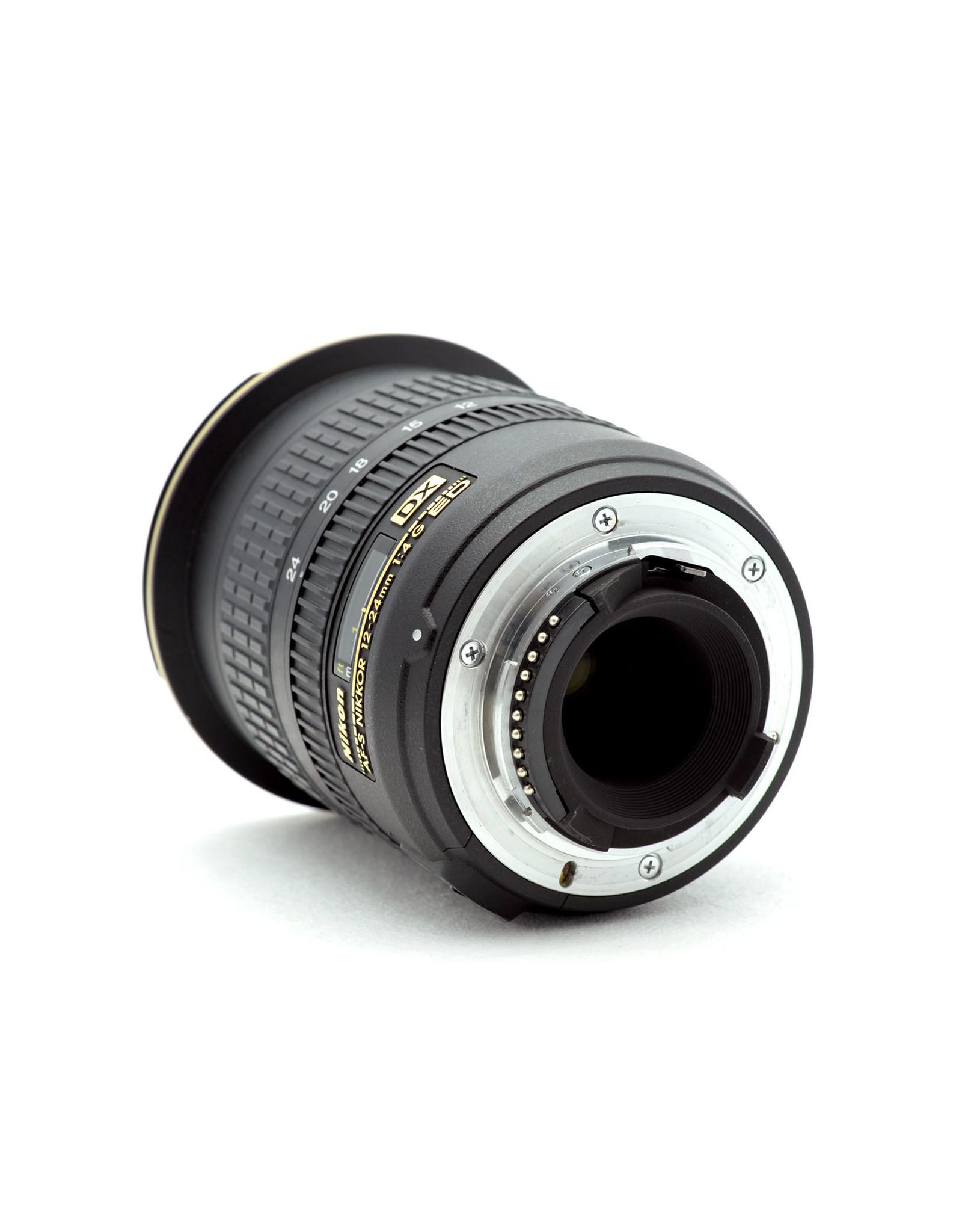 Nikon Nikon 12-24mm f4G AF-S DX   NAF9042601