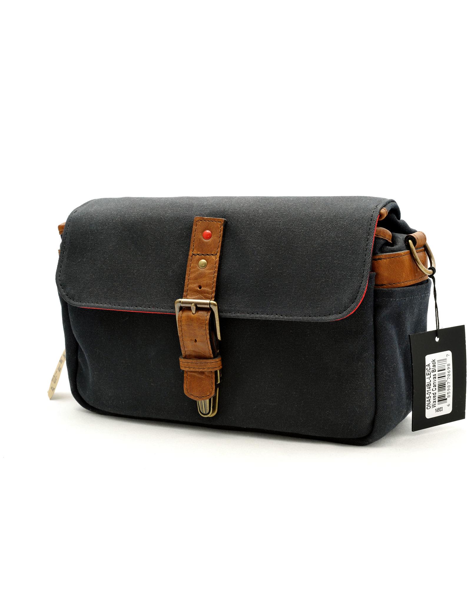 Leica ONA Bag Bowery for Leica Canvas Black   149-03