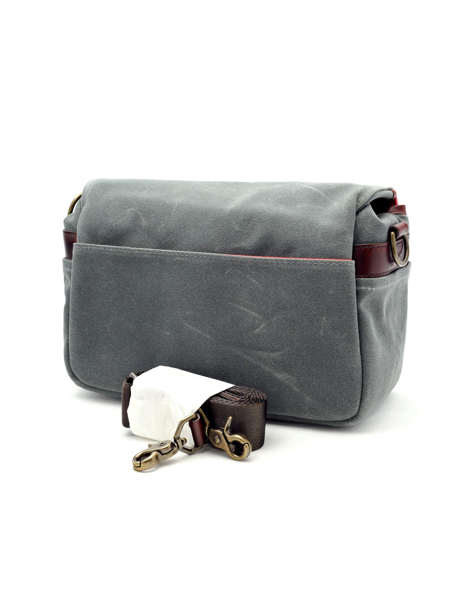 Leica ONA Bag Bowery for Leica Canvas Smoke   149-05