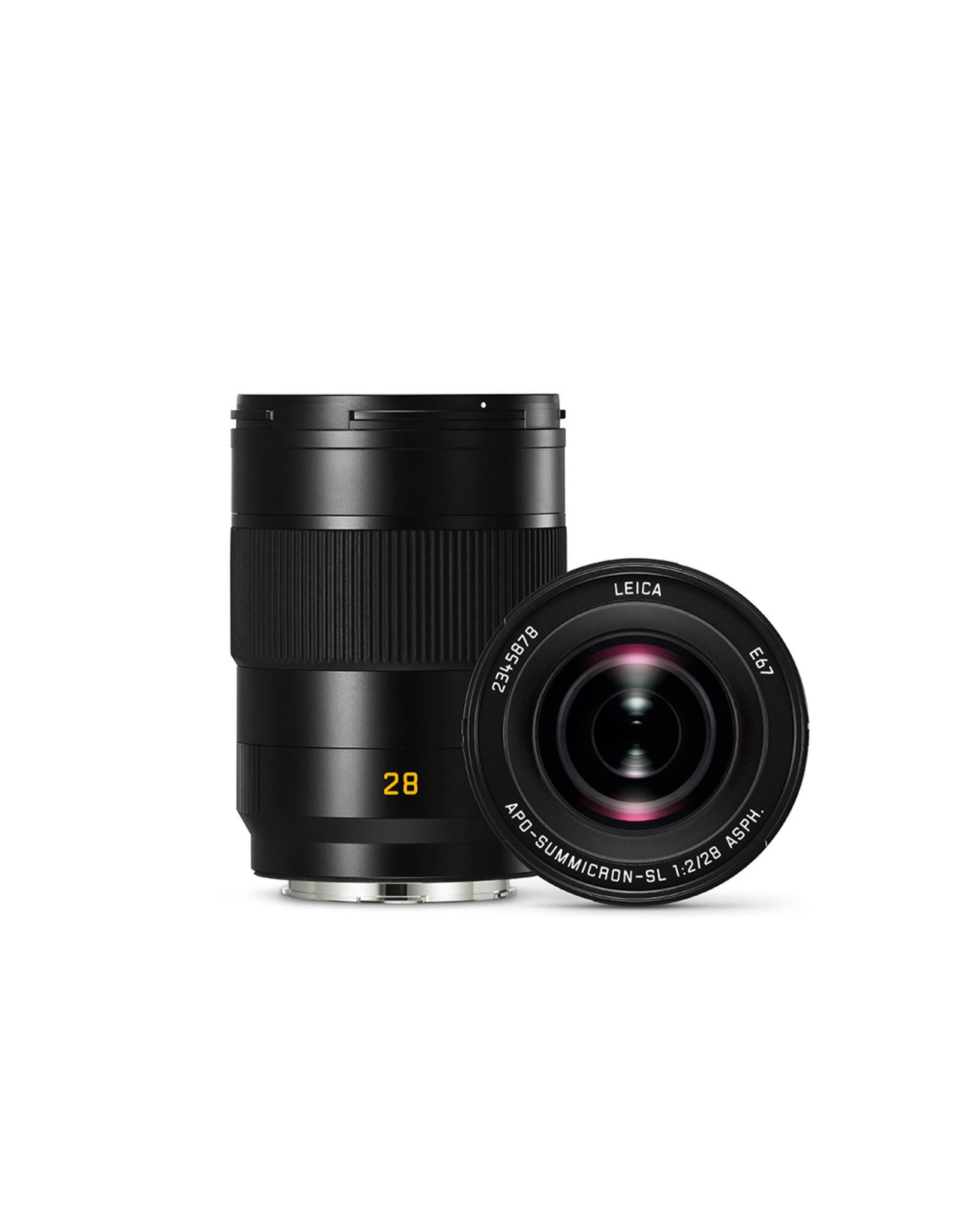 Leica Leica 28mm f2 Apo-Summicron-SL ASPH Black   111-83