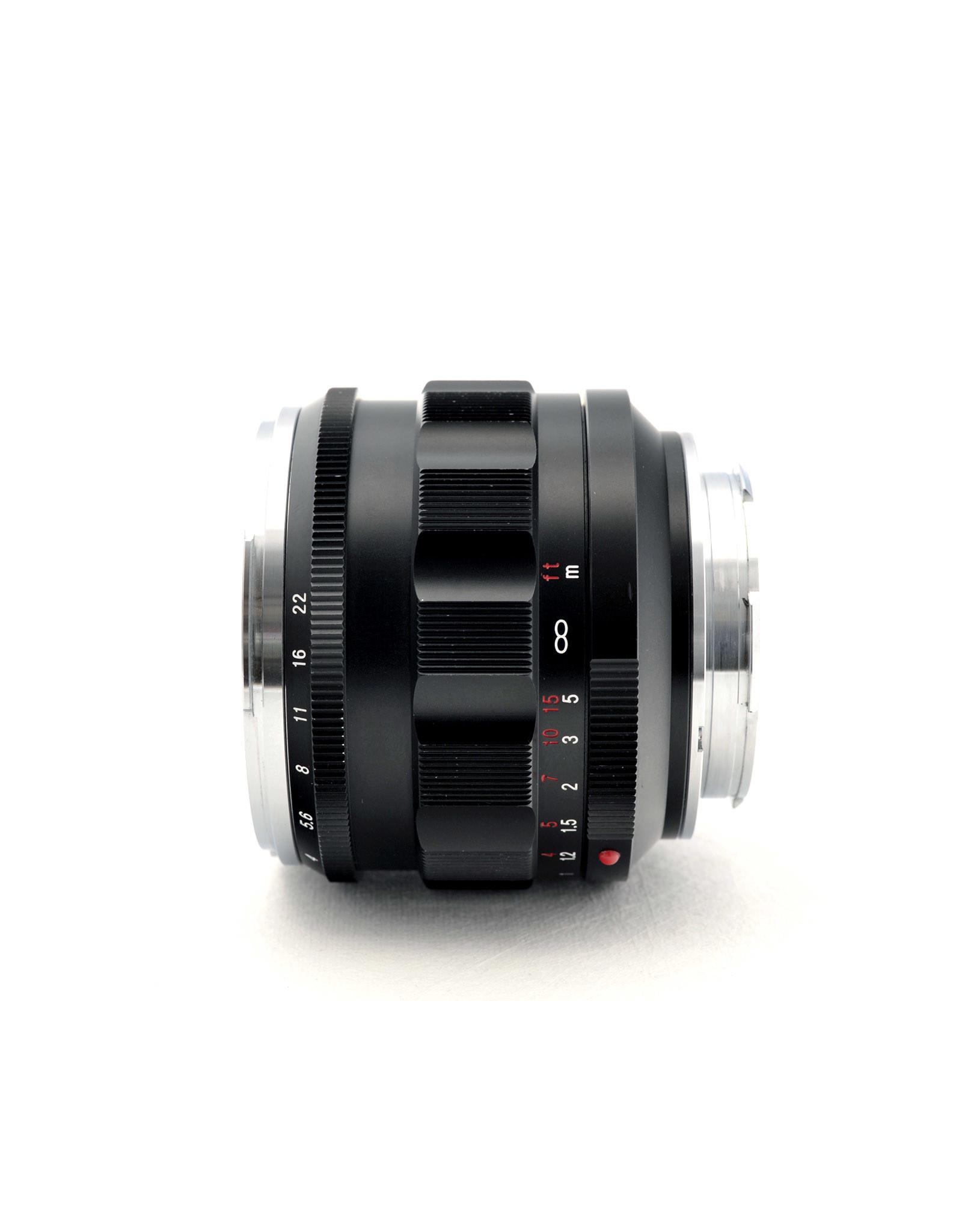 Voigtlander Voigtlander 50mm f1.2 Nokton VM   AP1022702