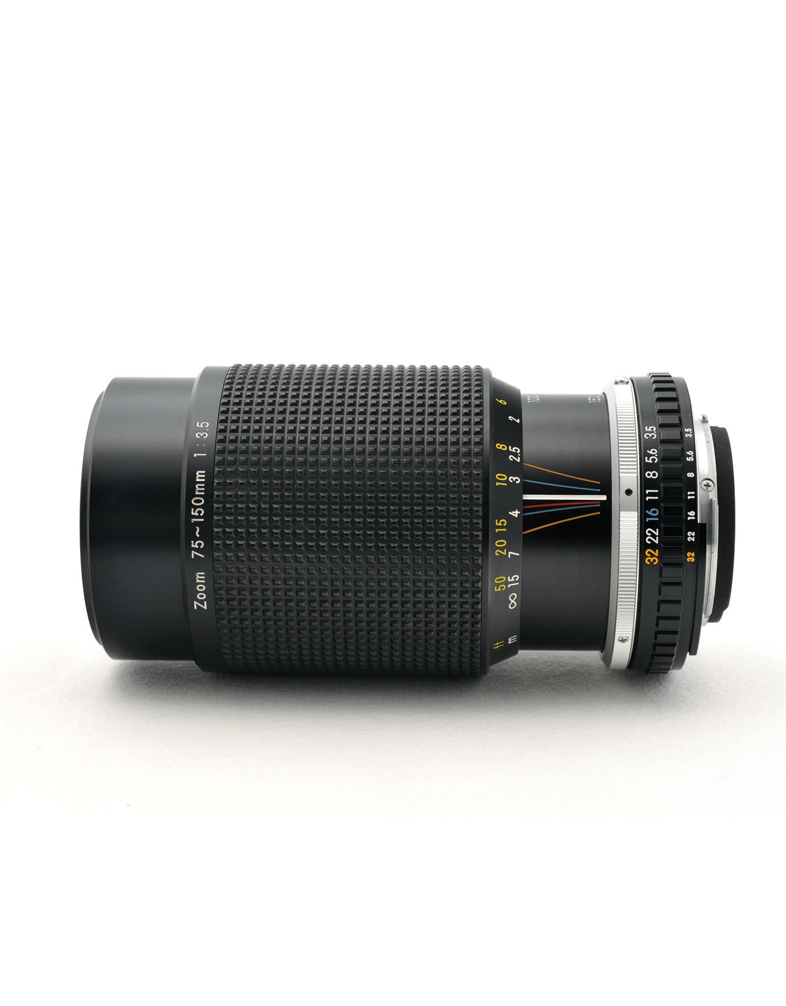 Nikon Nikon 75-150mm f3.5 AIS Series    AP1030406