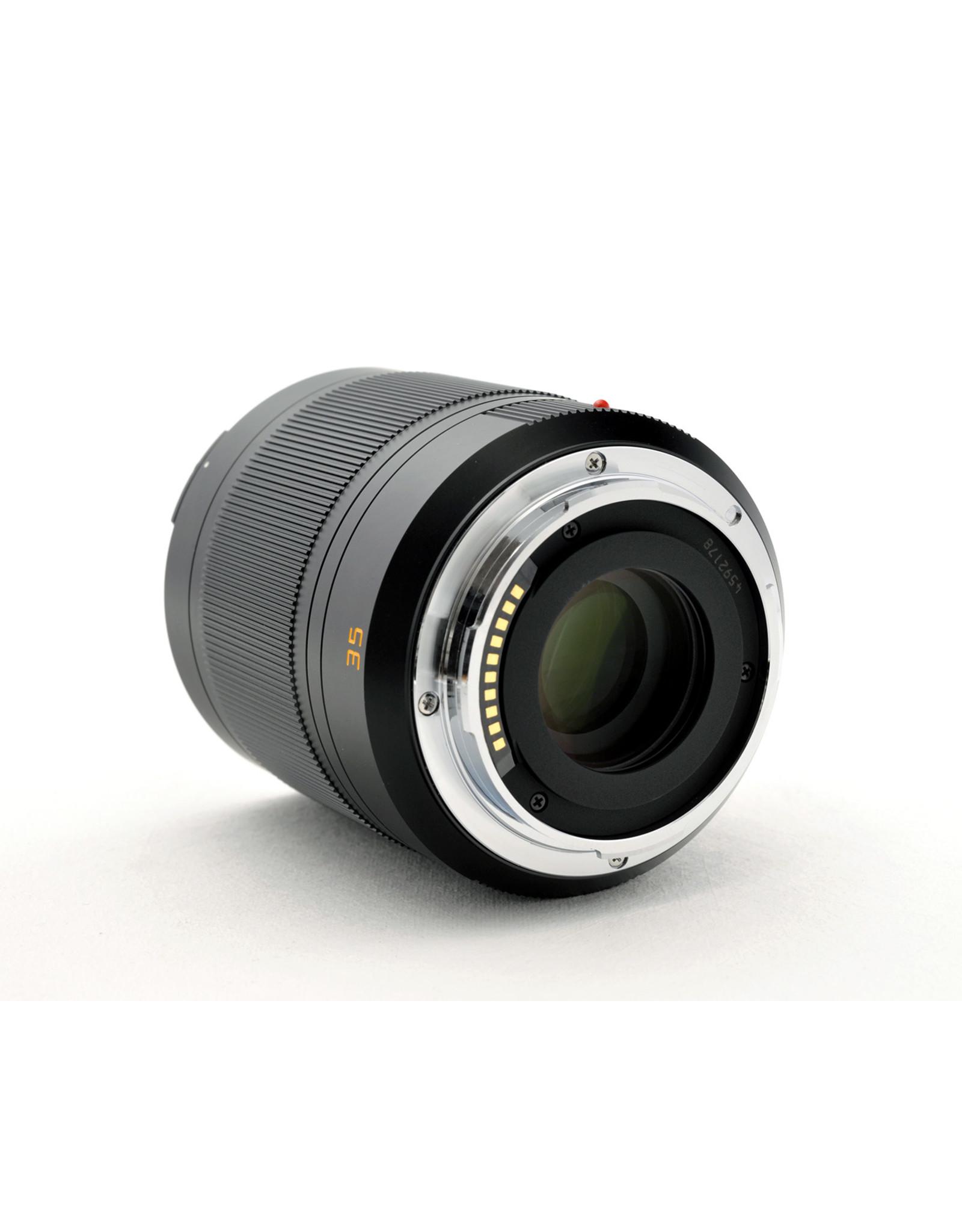 Leica Leica 35mm f1.4 Summilux-TL APSH Black   AP1030501