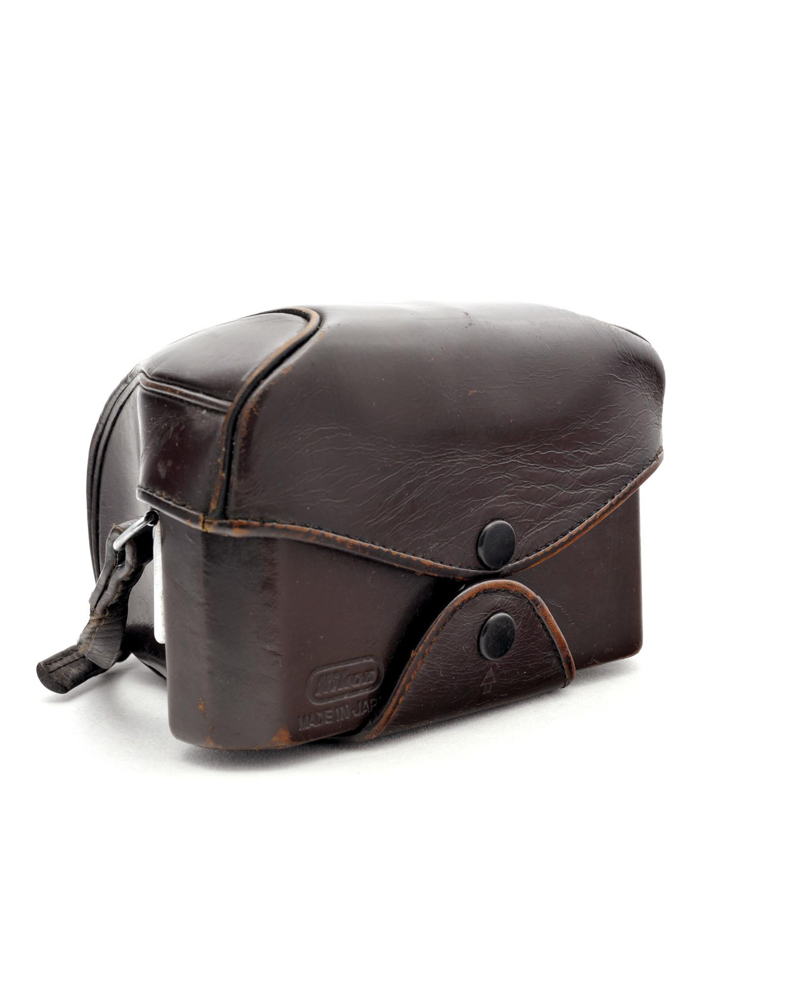 Nikon Nikkormat leather ever ready case (dark brown)  AP1031001