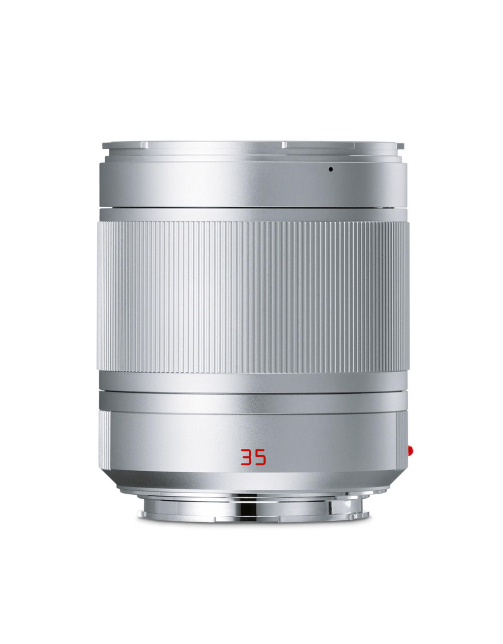 Leica Leica 35mm f1.4 Summilux-TL Silver Anodized  110-85