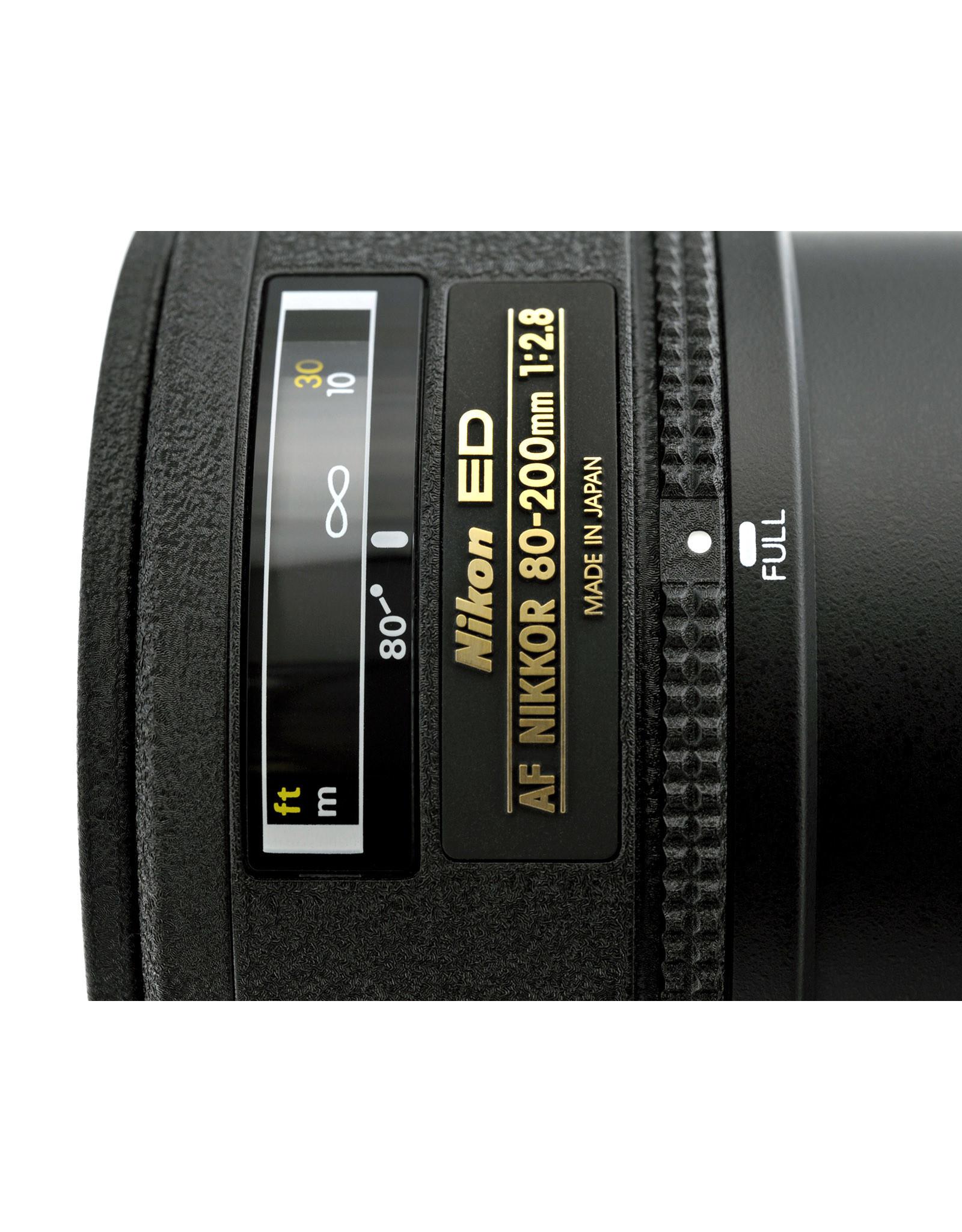 Nikon Nikon 80-200mm f2.8 AF-ED  1st version   AP1011419