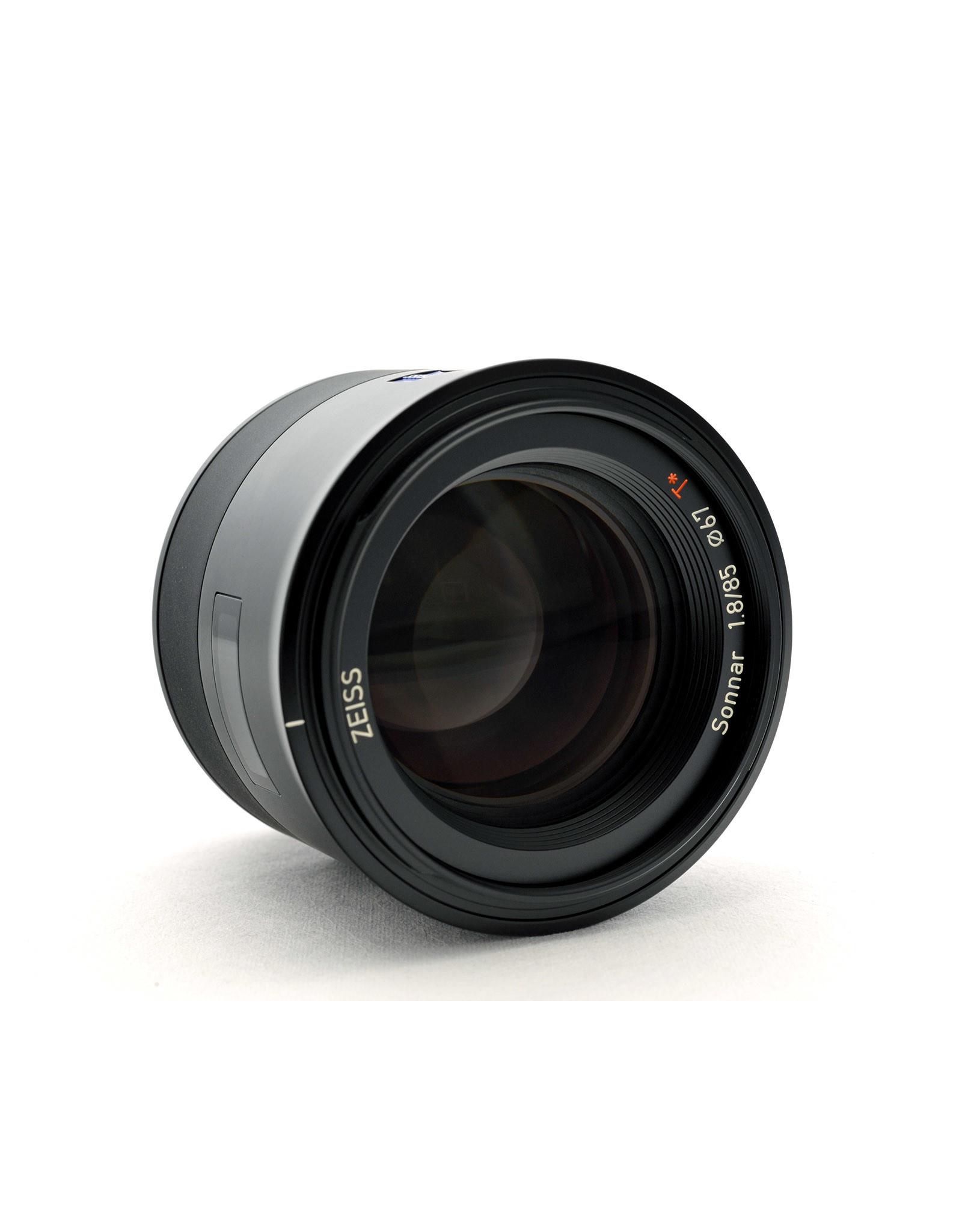 Carl Zeiss Zeiss 85mm f1.8 Sonnar E Batis   ALC110802