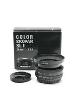 Voigtlander Voigtlander 20mm f3.5 Color-Skopar SL II  (Canon EOS Mount)   AP1041703