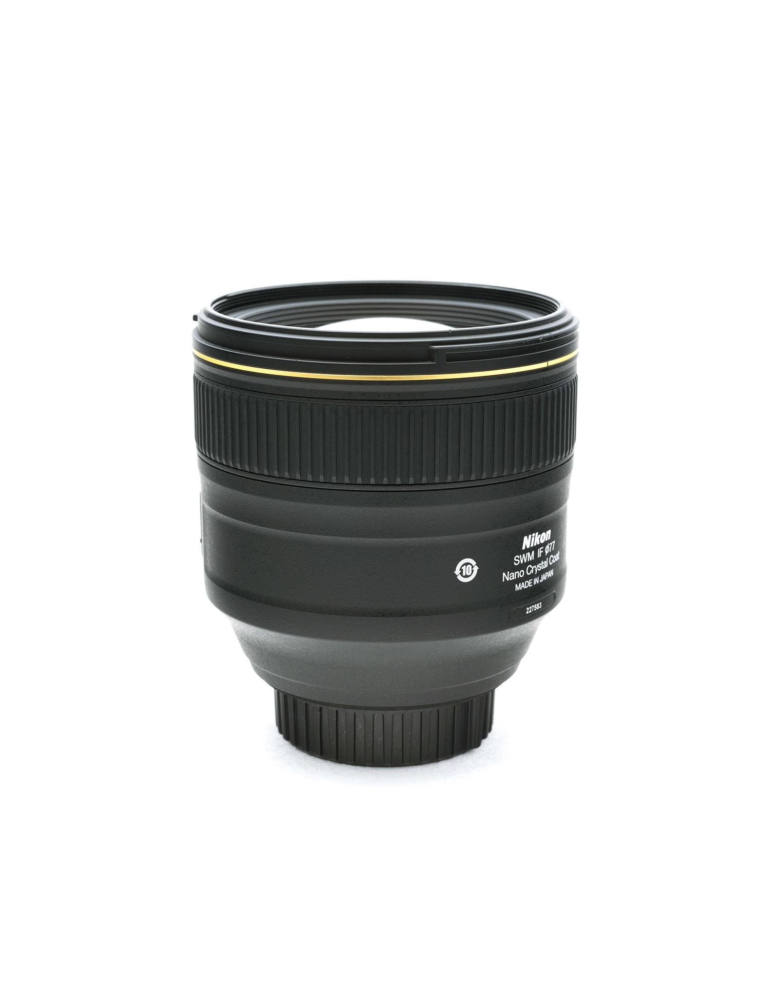 Nikon Nikon 85mm f1.4G AF-S Nano   AP1042303